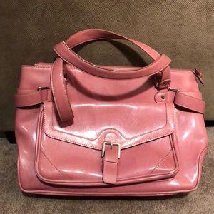 Franklin Covey- Laptop/ Briefcase Bag- Pink